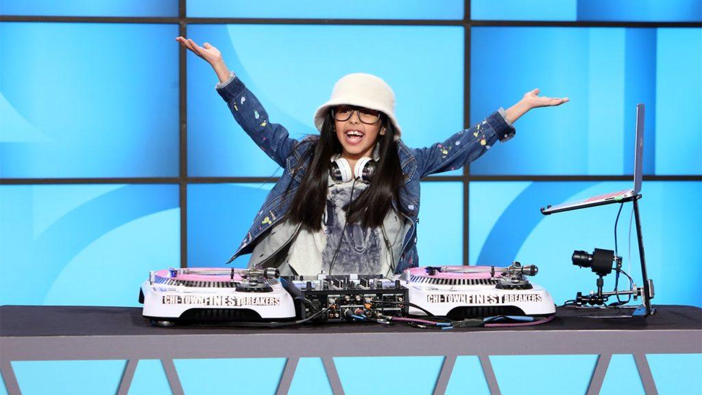DJ Livia за Вертушками