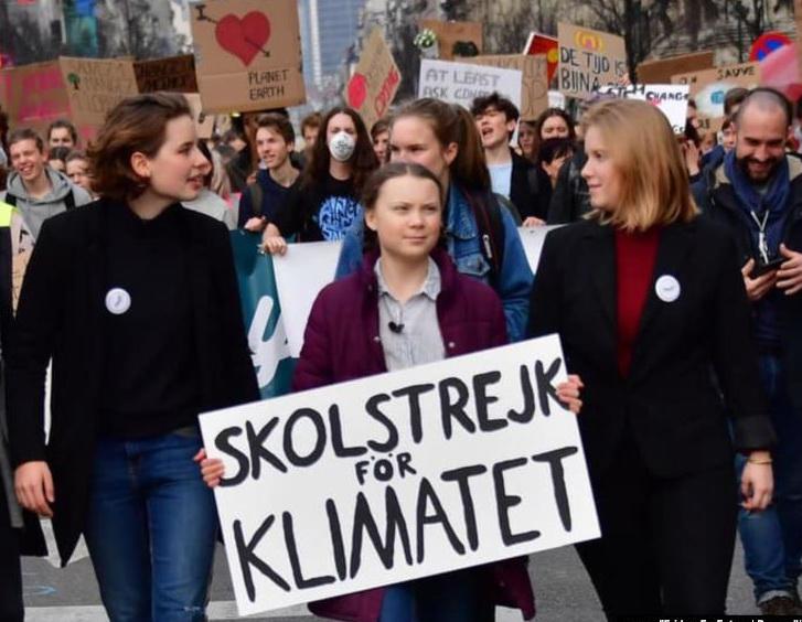 """Грета Тунберг: """"Мир просыпается, и приближаются перемены!"""""""