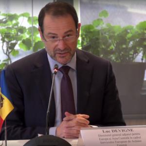 Люк Девинь: «ЕС не оценивает каждое правительство, а смотрит на конкретные результаты, достигнутые страной».